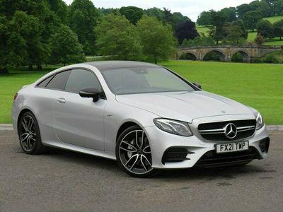 used Mercedes E53 AMG E Class4Matic+ Premium 2dr 9G-Tronic Coupe 2021