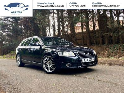 used Audi A6 2.0L AVANT TDI S LINE SPECIAL EDITION 5d 168 BHP