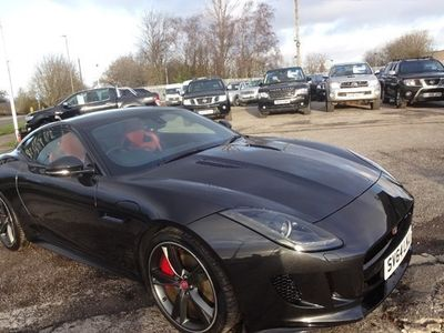 used Jaguar F-Type R Coupe 5.0 Supercharged V8 R Coupe 2d Auto