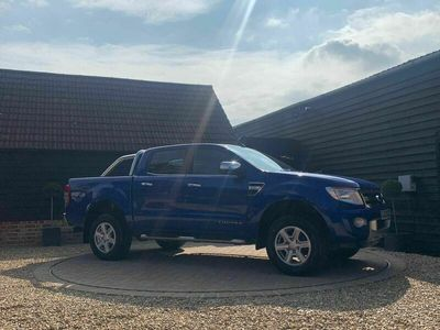 used Ford Ranger 2.2 TDCi Limited 2 Double Cab Pickup 4x4 4dr (EU5)
