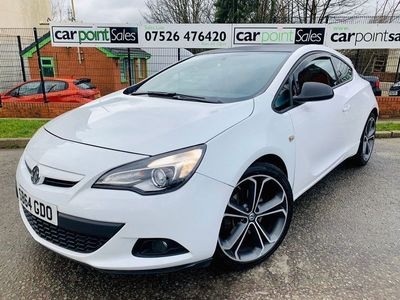 used Vauxhall Astra GTC 1.4T 16V Limited Edition Coupe 3dr Petrol (s/s) (120 ps)