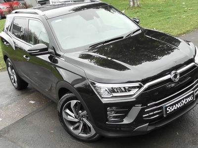 used Ssangyong Korando 1.6 D Ultimate 4x4 5dr Auto