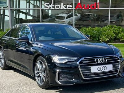 used Audi A6 2.0 TFSI 45 S line S Tronic quattro (s/s) 4dr