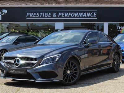 used Mercedes CLS350 CLSBluetec Amg Line 4Dr 9G-Tronic