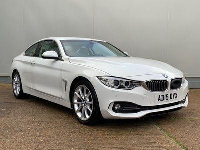used BMW 420 d Luxury Coupe