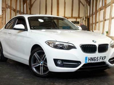 used BMW 220 2 Series 2.0 i Sport Auto (s/s) 2dr