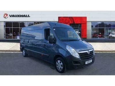 used Vauxhall Movano 35 L3 Diesel Fwd 2.3 CDTI H2 Van 130ps