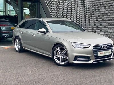 used Audi A4 DIESEL AVANT 2.0 TDI 190 S Line 5dr S Tronic