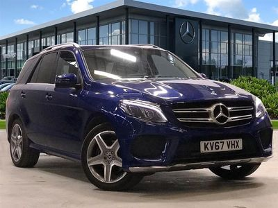 used Mercedes GLE350 GLE 2017 Wolverhampton4Matic Amg Line 5Dr 9G-Tronic
