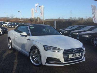 used Audi A5 Cabriolet S line 40 TDI 190 PS S tronic