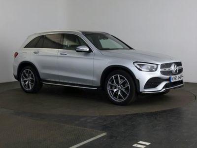 used Mercedes E300 GLC Class Glc d 4Matic AMG Line Premium Pls 5dr 9G-Tronic Estate 2019