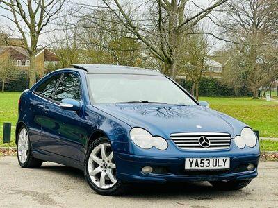 used Mercedes C320 C Class 3.2SE 2dr