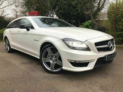 used Mercedes CLS63 AMG Shooting Brake CLS 5.5 BlueEFFICIENCY AMG 7G-Tronic Plus (s/s) 5dr