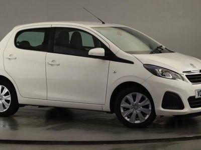 used Peugeot 108 1.0 Active Hatchback 5dr Petrol (68 ps)