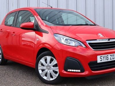 used Peugeot 108 1.0 Active 5Dr