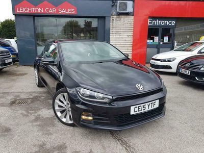 used VW Scirocco 2.0 TDI BLUEMOTION TECHNOLOGY 2d 148 BHP