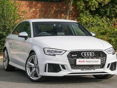 used Audi RS3 RS3 Saloon 400 Ps S Tronicsaloon