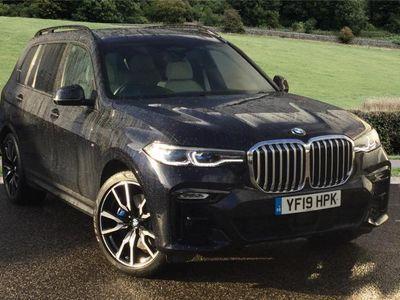 used BMW X7 DIESEL ESTATE xDrive30d M Sport 5dr Step Auto