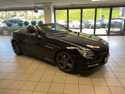 used Mercedes SLK250 SLK 2.1CDI BLUEEFFICIENCY AMG SPORT 2d 204 BHP