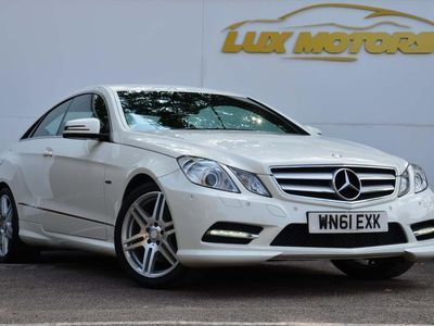 used Mercedes E220 E Class 2.1CDI BlueEFFICIENCY Sport Edition 125 7G-Tronic Plus (s/
