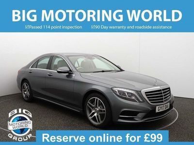 used Mercedes S350 S ClassD AMG LINE 3.0 4dr