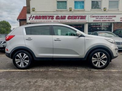 used Kia Sportage 2.0 CRDI FIRST EDITION 5d 134 BHP