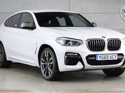 used BMW X4 xDrive M40d 5dr Step Auto