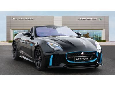 used Jaguar F-Type 5.0 Supercharged V8 SVR 2dr Auto AWD Petrol Convertible