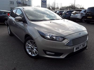 used Ford Focus 1.0 ECOBOOST 125PS ZETEC EDITION 5DR