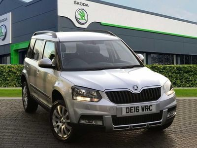 used Skoda Yeti Outdoor se business tdi dsg scr 5DR