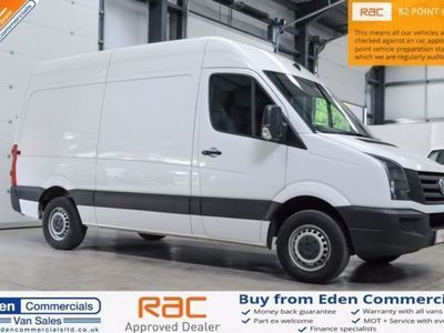 used VW Crafter 2.0 CR35 TDI MWB MEDIUM WHEEL BASE H/R, 2014, Van, 121929 miles.