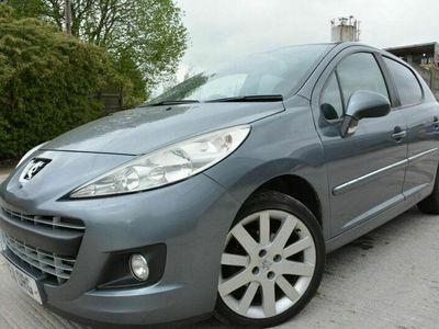 used Peugeot 207 1.6 HDI ALLURE 5d 92 BHP £30TAX*LOW MILEAGE*PAN ROOF*2 OWNER