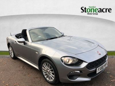 used Fiat 124 Spider 1.4 MultiAir Classica Convertible 2dr Petrol (140 ps)
