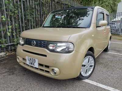 used Nissan Cube 1.5 AUTOMATIC GLASS ROOF METALLIC BEIGE 5dr