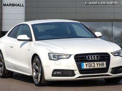 used Audi A5 1.8T FSI Black Edition 2dr Multitronic