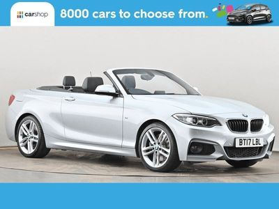 used BMW 220 2 Series d M Sport 2dr Step Auto Leather Seats 2.0