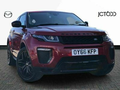 used Land Rover Range Rover evoque TD4 HSE DYNAMIC LUX diesel coupe