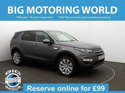 used Land Rover Discovery Sport SD4 HSE LUXURY 2.2 5dr