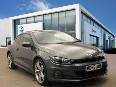 used VW Scirocco 2.0 TDI R-Line 150PS 3Dr Coupe + SAT NAV/LEATHER