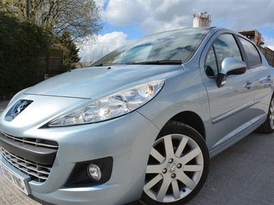 used Peugeot 207 1.6 HDI ALLURE 5d 112 BHP LOVELY CONDITION*LEATHER*PAN ROOF*