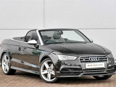 used Audi A3 Cabriolet S3 Tfsi Quattro 2Dr S Tronic [Nav]