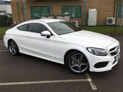 used Mercedes C250 C CLASS DIESEL COUPEAMG Line 2dr Auto