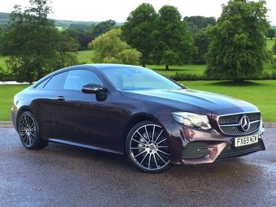 used Mercedes E50 AMG E Class4Matic AMG Line Premium Plus 2dr 9G-Tronic Coupe 2019