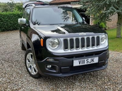 used Jeep Renegade 2.0 MultiJetII Limited Auto 4WD (s/s) 5dr
