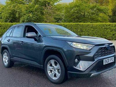 used Toyota RAV4 Estate 2.5 VVT-i Hybrid Icon 5dr CVT 2WD