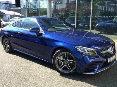 used Mercedes C300 C CLASS COUPEAMG Line 2dr 9G-Tronic