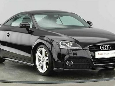 used Audi TT Coupé Coupe S line 1.8 TFSI 160 PS 6 speed