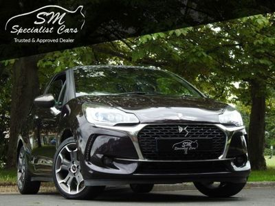 used DS Automobiles DS3 1.6 THP ULTRA PRESTIGE S/S 3d 161 BHP APPLY FOR FINANCE ON OUR WEBSITE