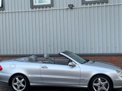 used Mercedes 500 CLK CabrioletElegance 2d Tip Auto (04)