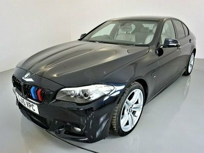 "used BMW 525 5 Series 2.0 D M SPORT 4d-19"" ALLOYS-HARMAN KARDON-HEATED OYSTER DAKOTA LEATHER-B"